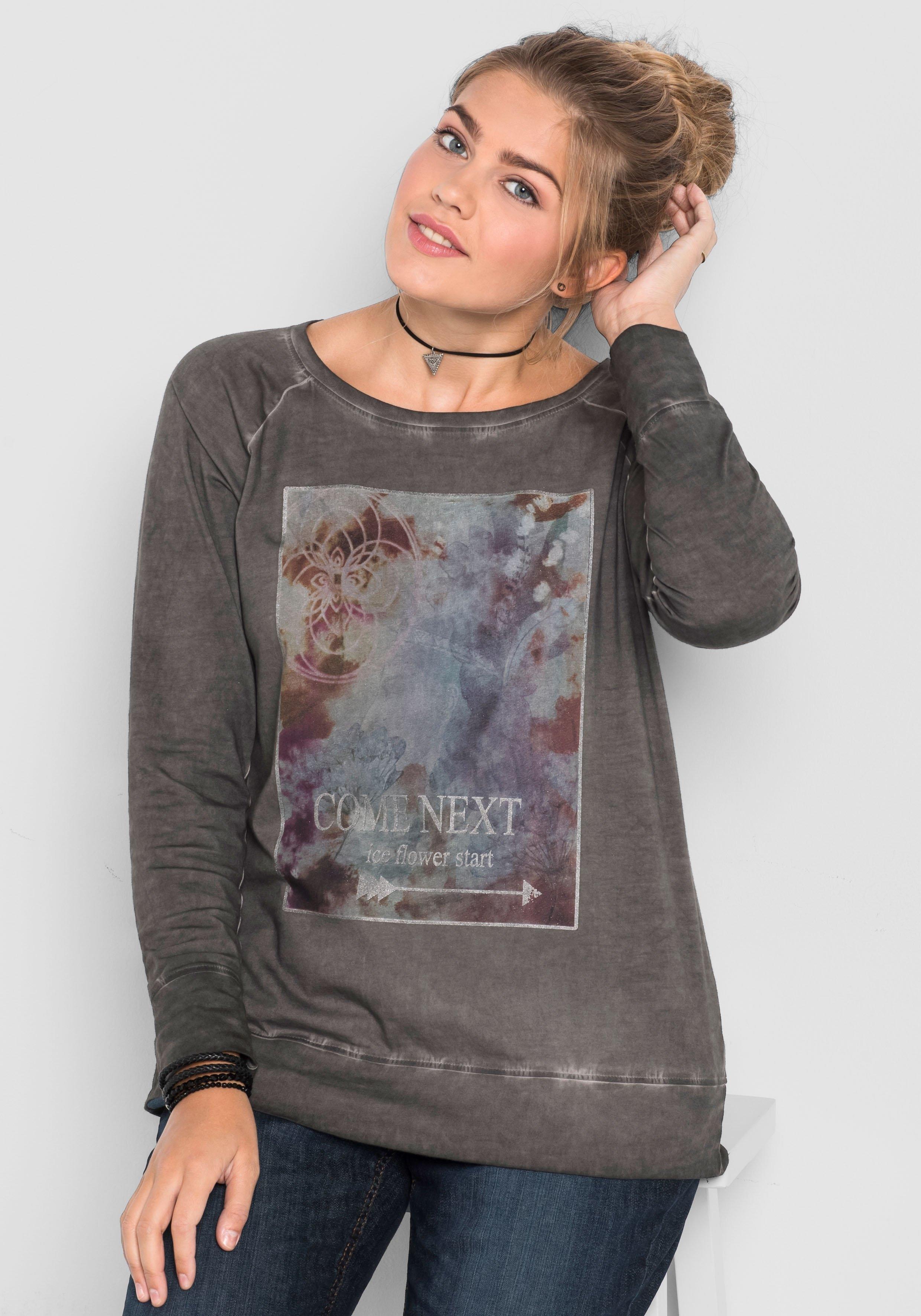Sheego Casual shirt met lange mouwen bij OTTO online kopen