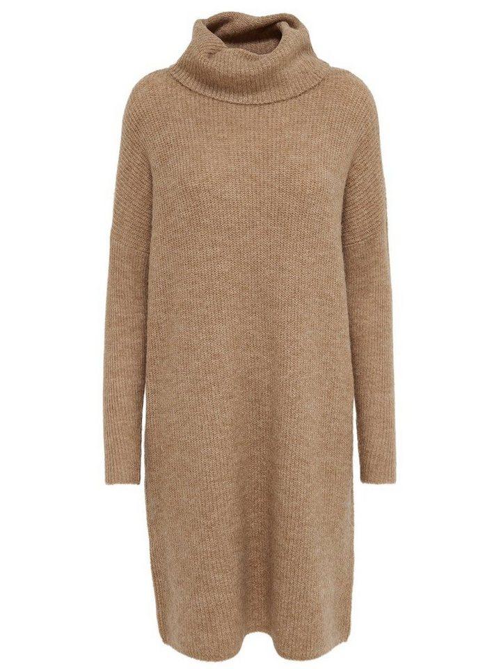 ONLY Lange gebreide jurk bruin