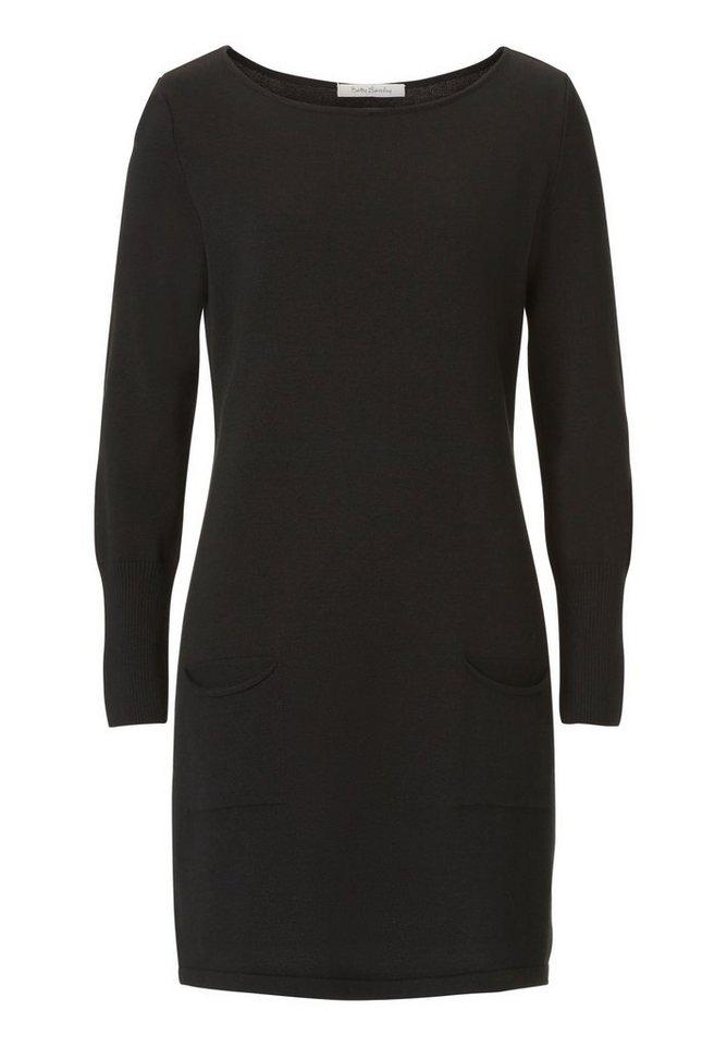 NU 21% KORTING: Betty Barclay gebreide jurk zwart