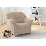 domo collection fauteuil beige