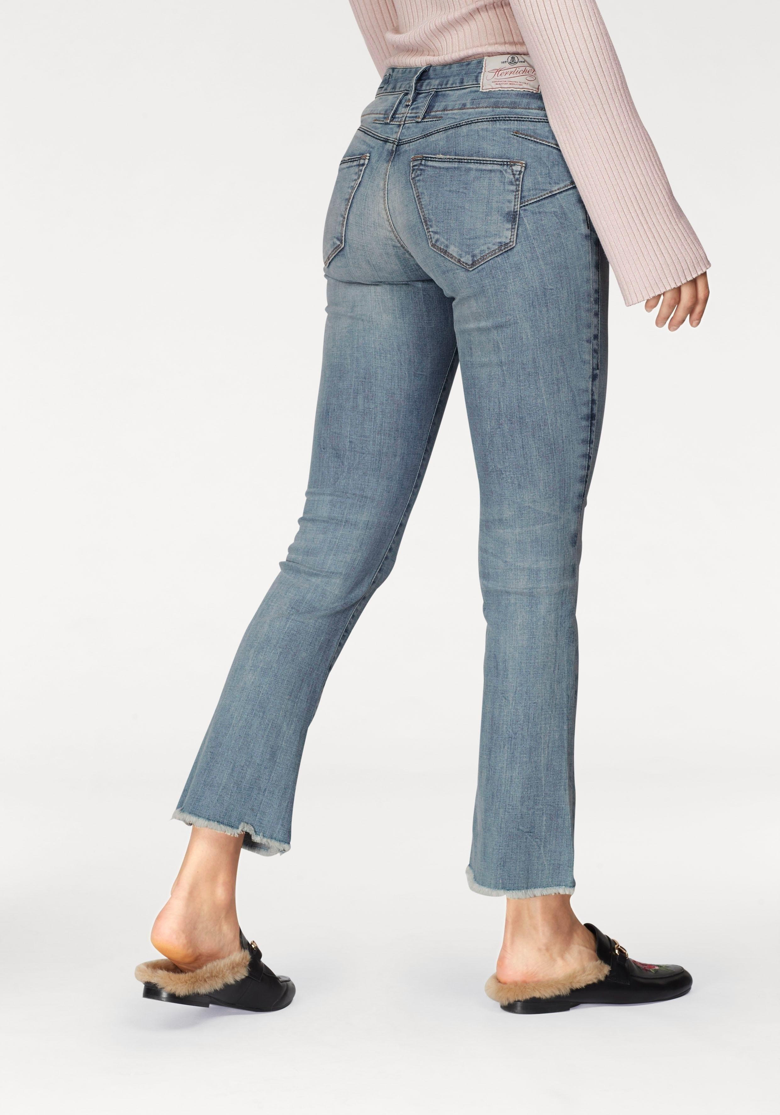 Herrlicher bootcut-jeans »Baby Cropped« in de webshop van OTTO kopen