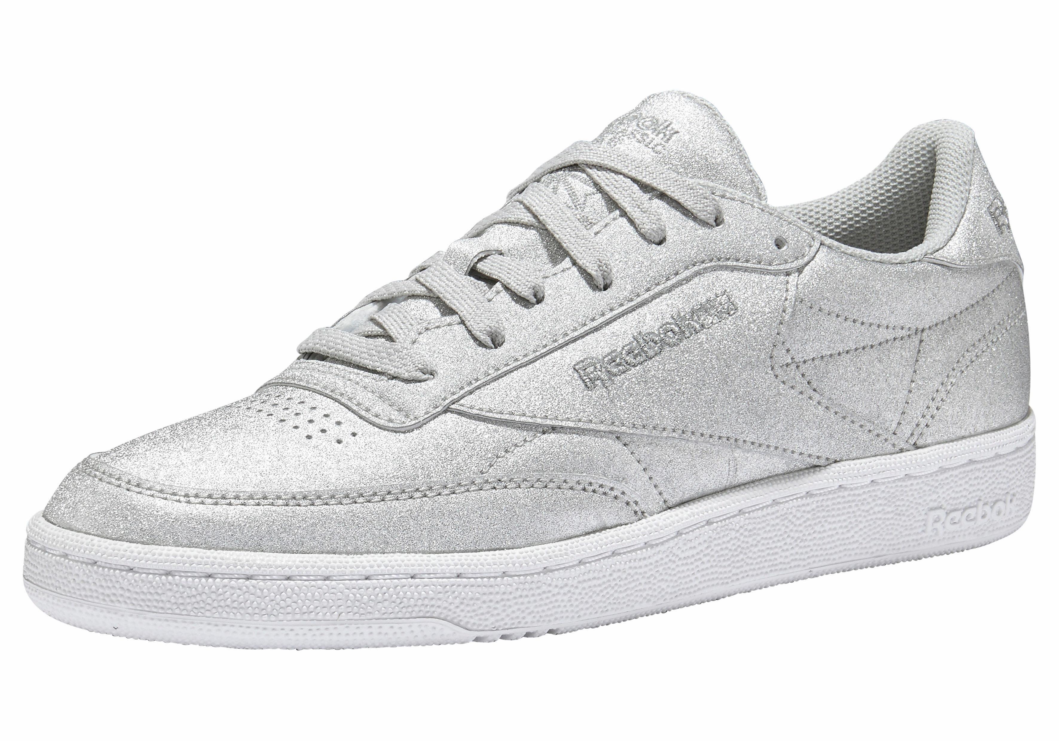 Reebok Club Syn C 85 W Argent Chaussures Fu56zfrg