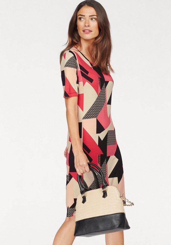 Laura Scott jurk in A-lijn rood
