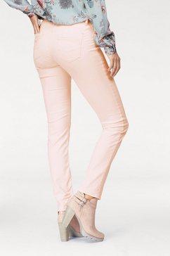 cross jeans 5-pocketsjeans »anya« roze