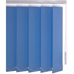 verticale jaloezien, »verticaal systeem 89 mm«, liedeco, met boren blauw