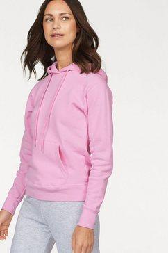 fruit of the loom sweatshirt roze