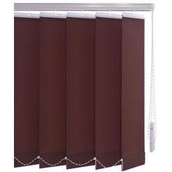 lamellen, liedeco, »vertikalanlage 89 mm«, met boren bruin