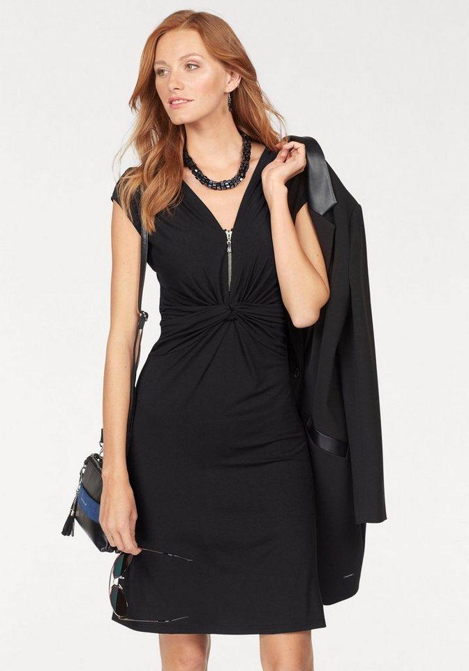 Bruno Banani jurk in A-lijn zwart
