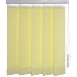 verticale jaloezien, »verticaal systeem 89 mm«, liedeco, met boren groen