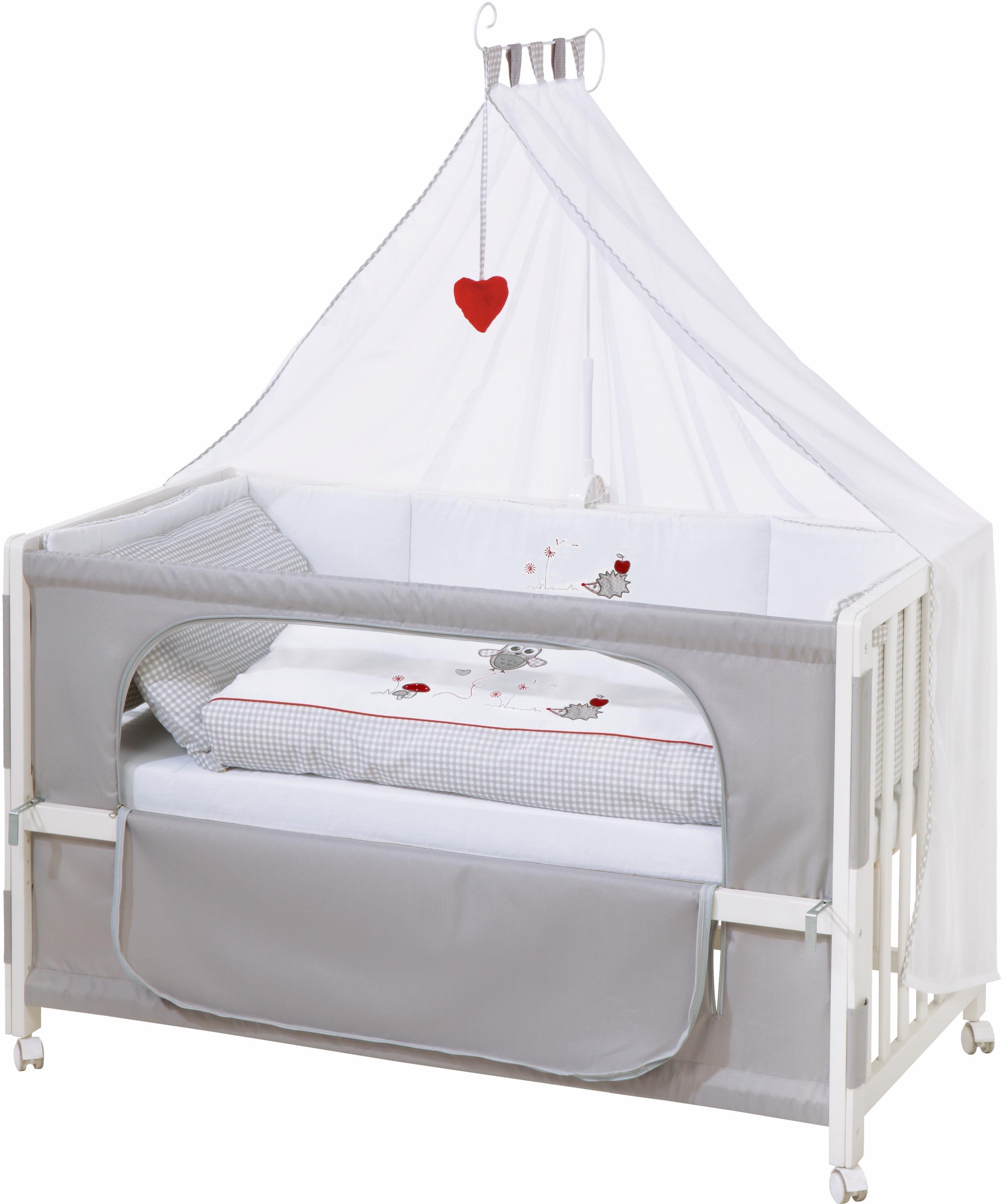 Roba ledikantje Room bed - decor Adam en uil te gebruiken als bijzetbed, kinderbed en juniorbed online kopen op otto.nl