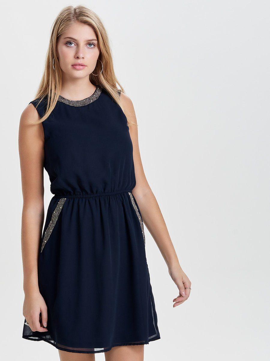 Afbeeldingsbron: Only Gedetailleerde Mouwloze jurk