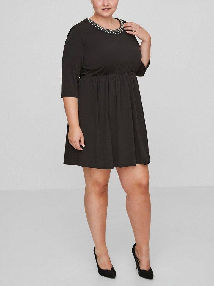 Junarose Geweven jurk zwart