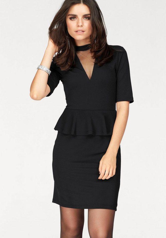 ONLY party-jurk LONA zwart