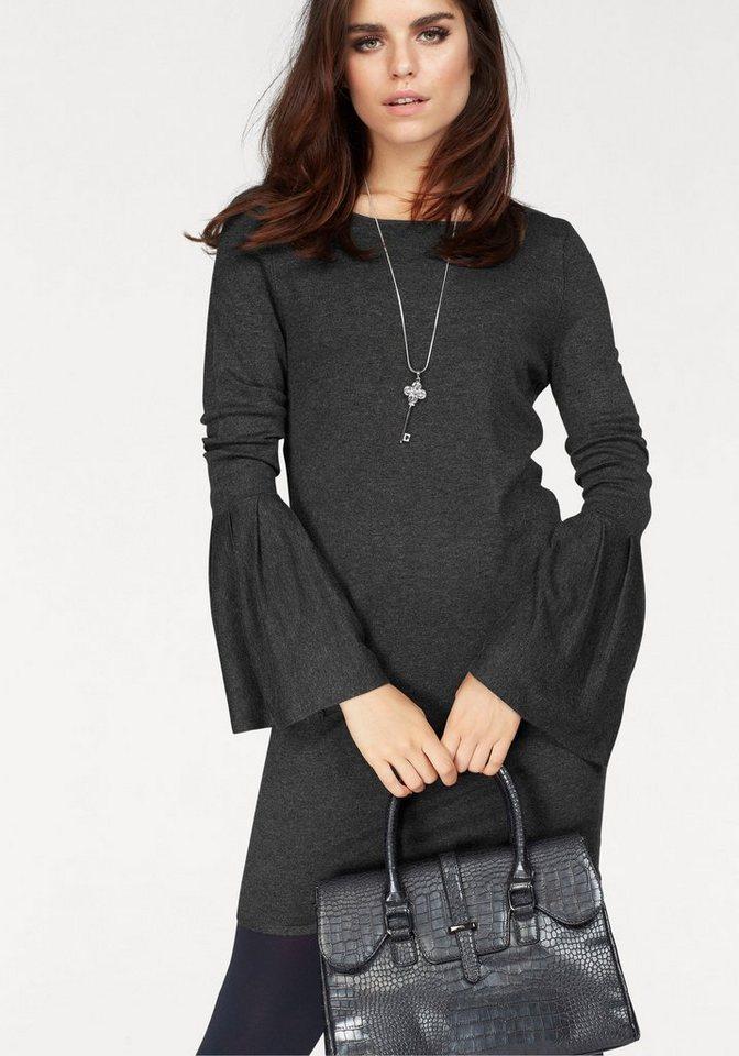 Vero Moda tricotjurk BIGGS grijs