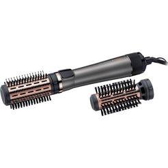 remington stylingborstel met warme lucht as8810 met 3 opzetstukken, 1000 watt grijs