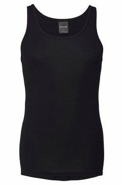 schiesser hemd classics fijnrib zwart