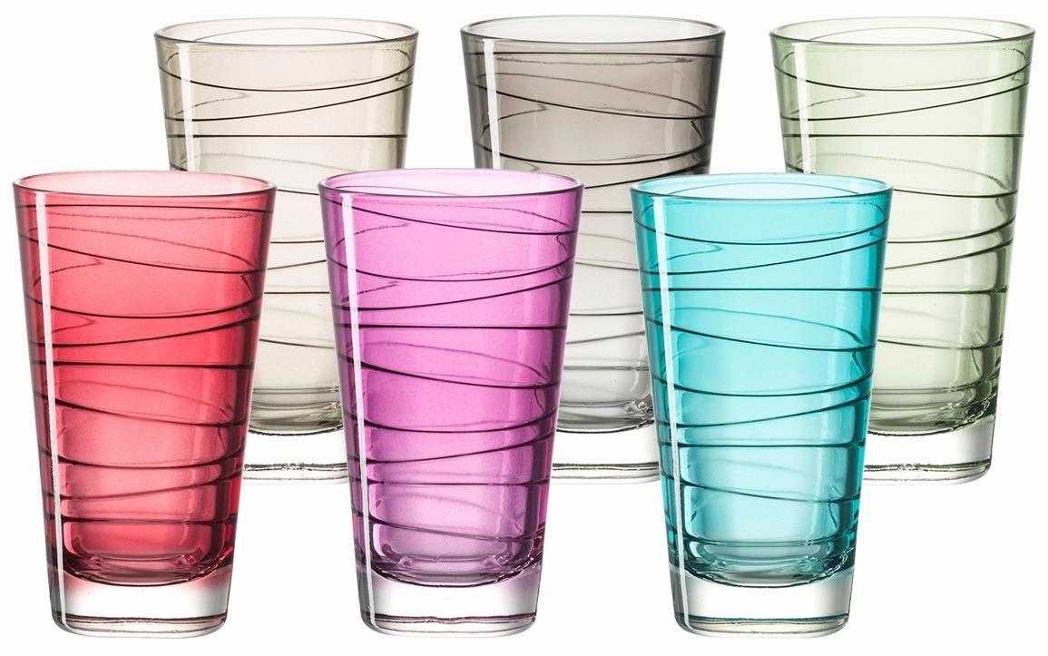 Leonardo glas 'Colori' (set van 6) voordelig en veilig online kopen