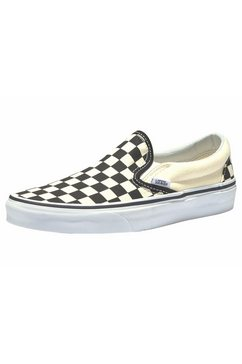 vans sneakers »checkerboard slip-on« crème