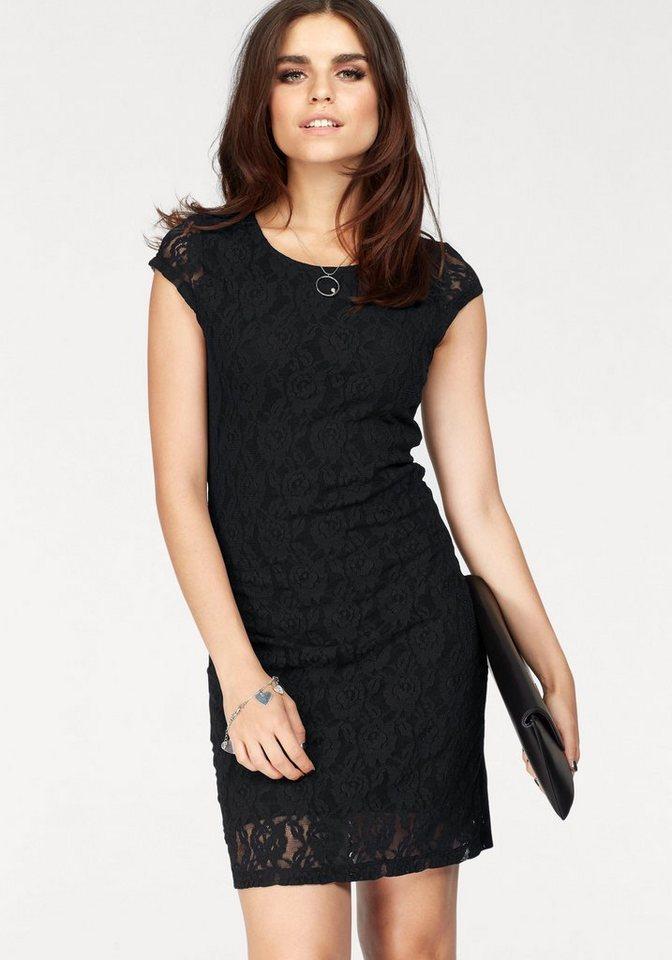 Vero Moda kanten jurk LILLY zwart
