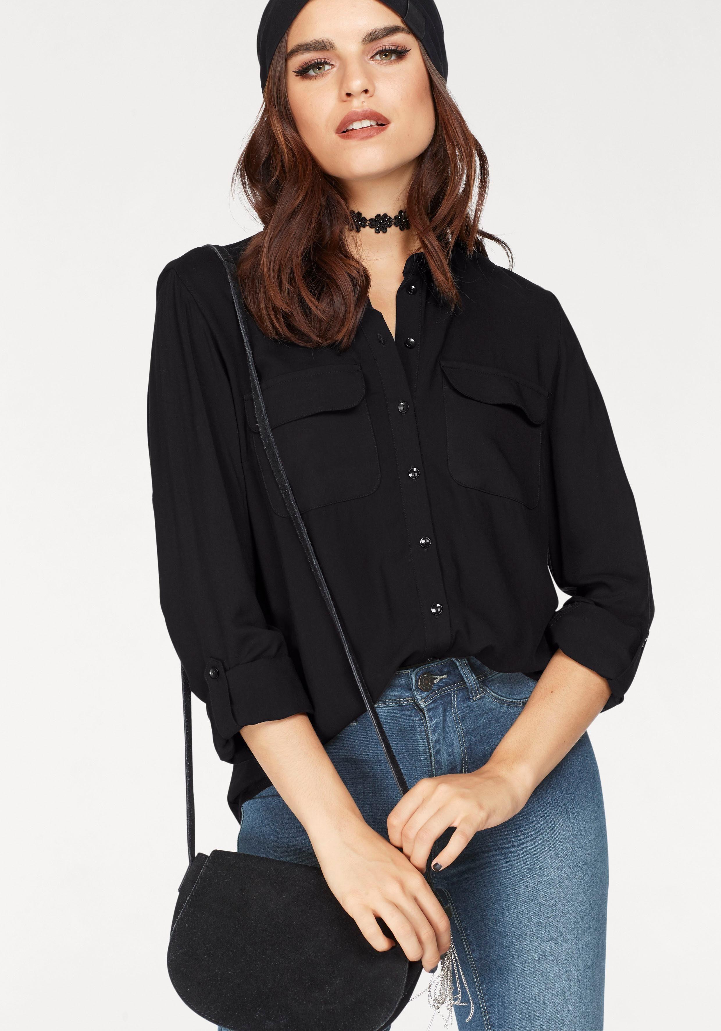 Afbeeldingsbron: Only lange blouse »JOSEFINE«