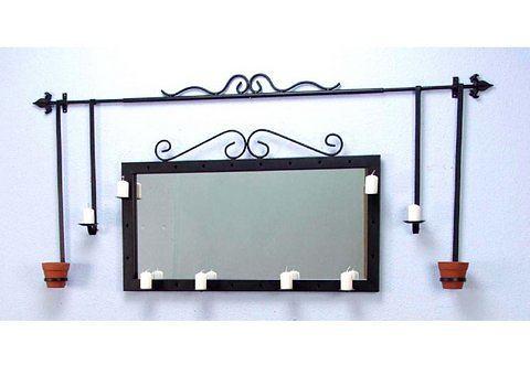 Decoratieve, stabiele wandkaarsenhouder, Hofmann