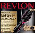 revlon haardroger  styler rvdr5222e, salon one-step hair dryer  volumiser zwart