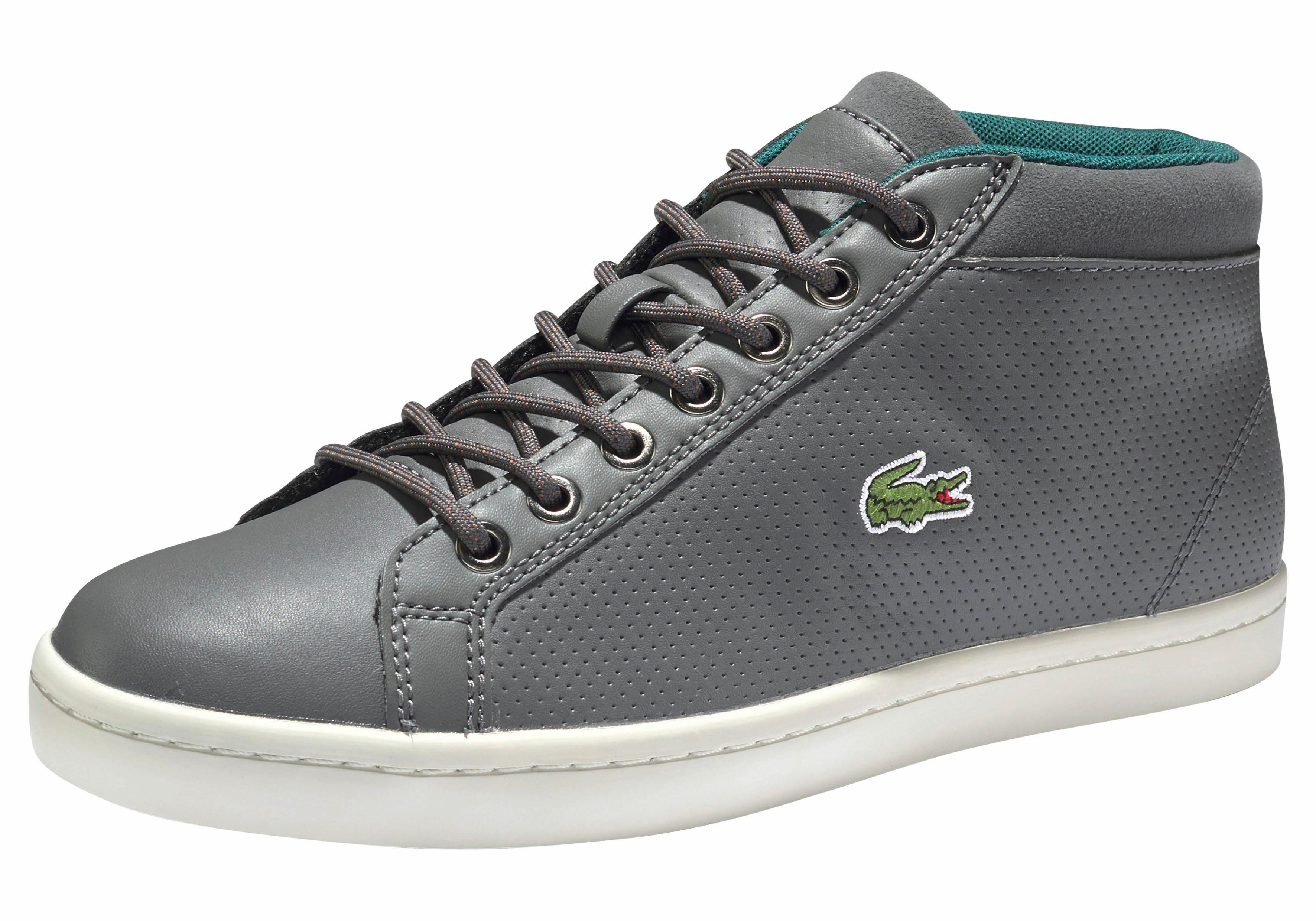 Chaussures De Sport Lacoste Haute 'straightset Sp Chukka' Dark shhQI1qT1y