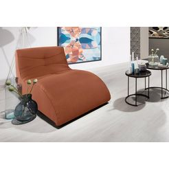 domo collection relaxstoel oranje