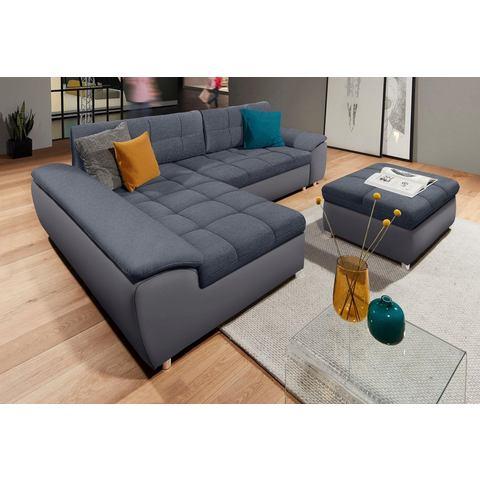 sit&more hoekbank XL met slaapfunctie en bedkist