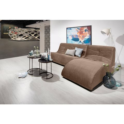 DOMO Collection hoekbank met relaxelement