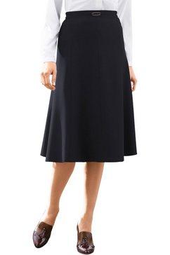 classic basics rok in flatteus banenmodel zwart