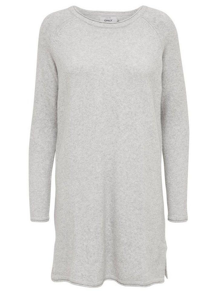 ONLY Loose fit gebreide jurk wit