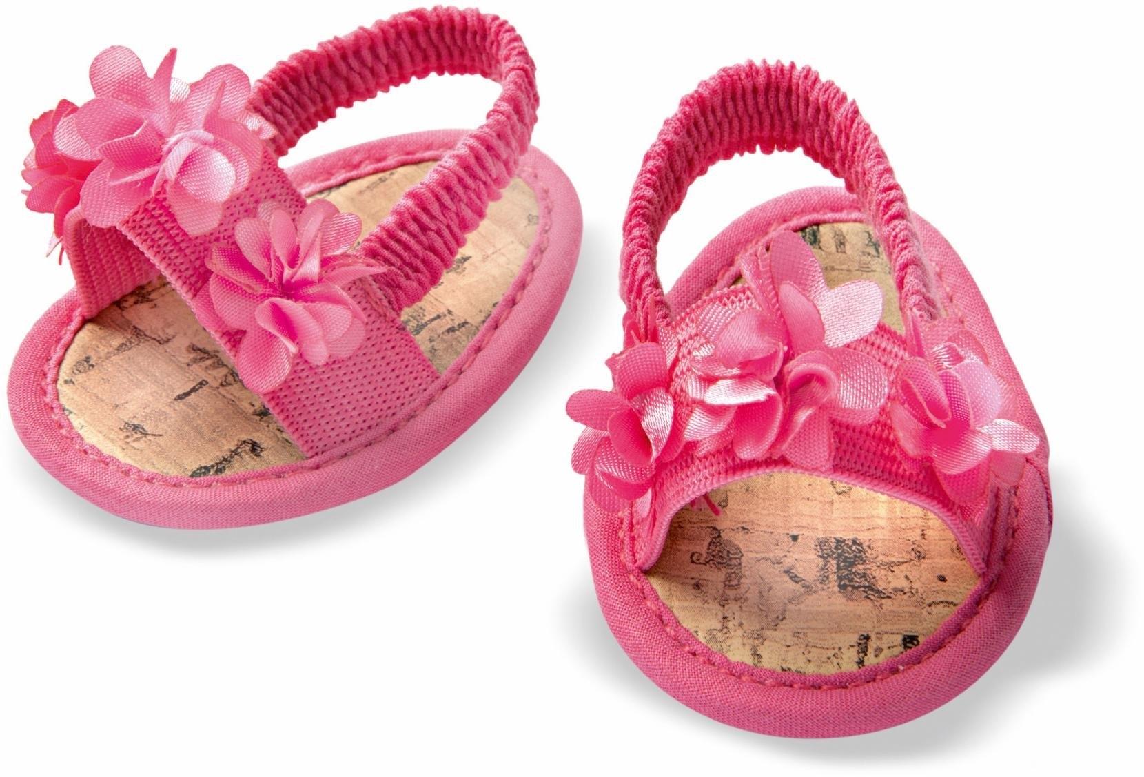 Heless poppenkleding Bloemen-sandalen voor poppenmaat 38-45 cm veilig op otto.nl kopen