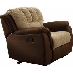 home affaire fauteuil »petra« bruin