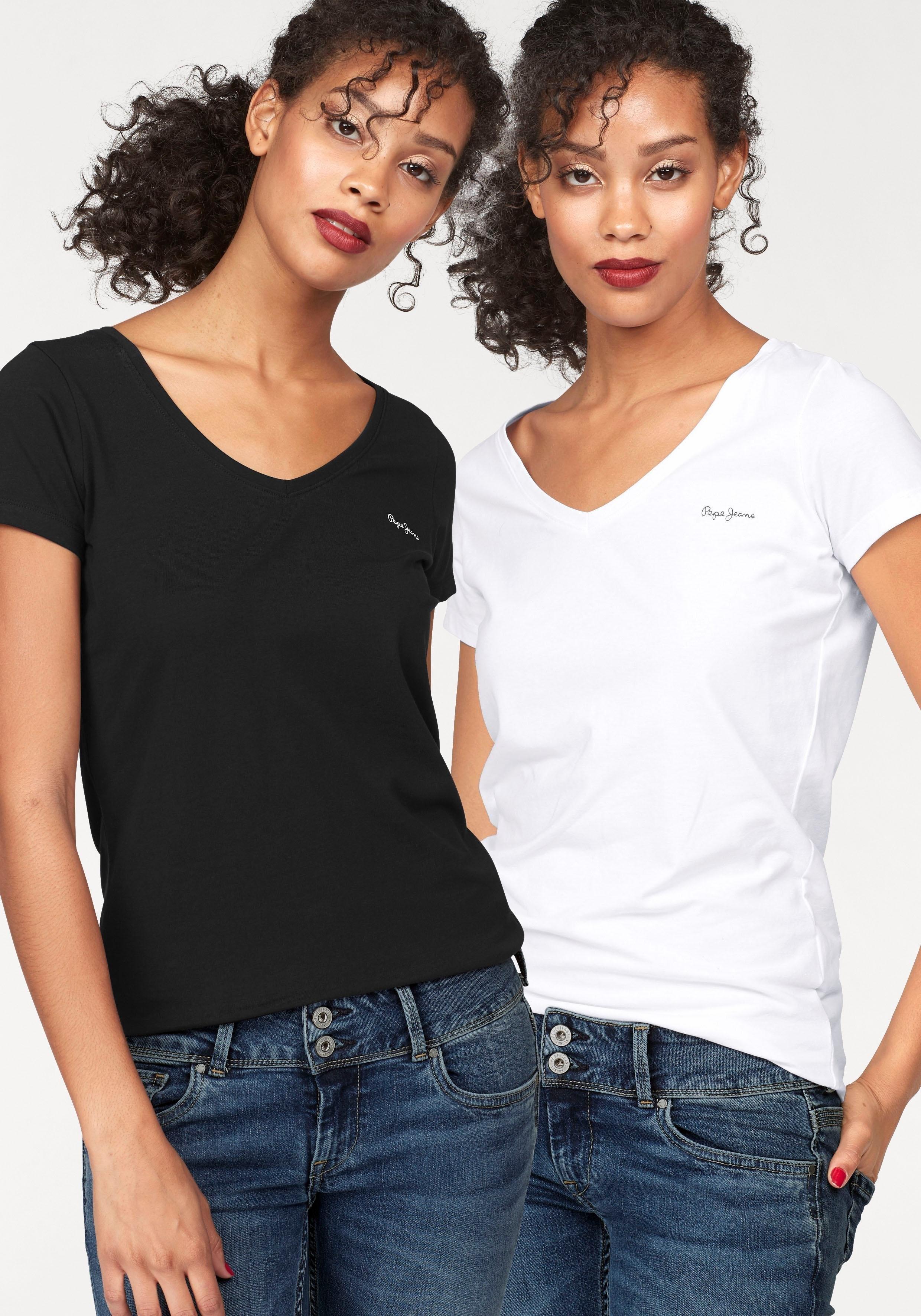 498906efe3 Pepe Jeans T-shirt »LARA« (set van 2) online verkrijgbaar