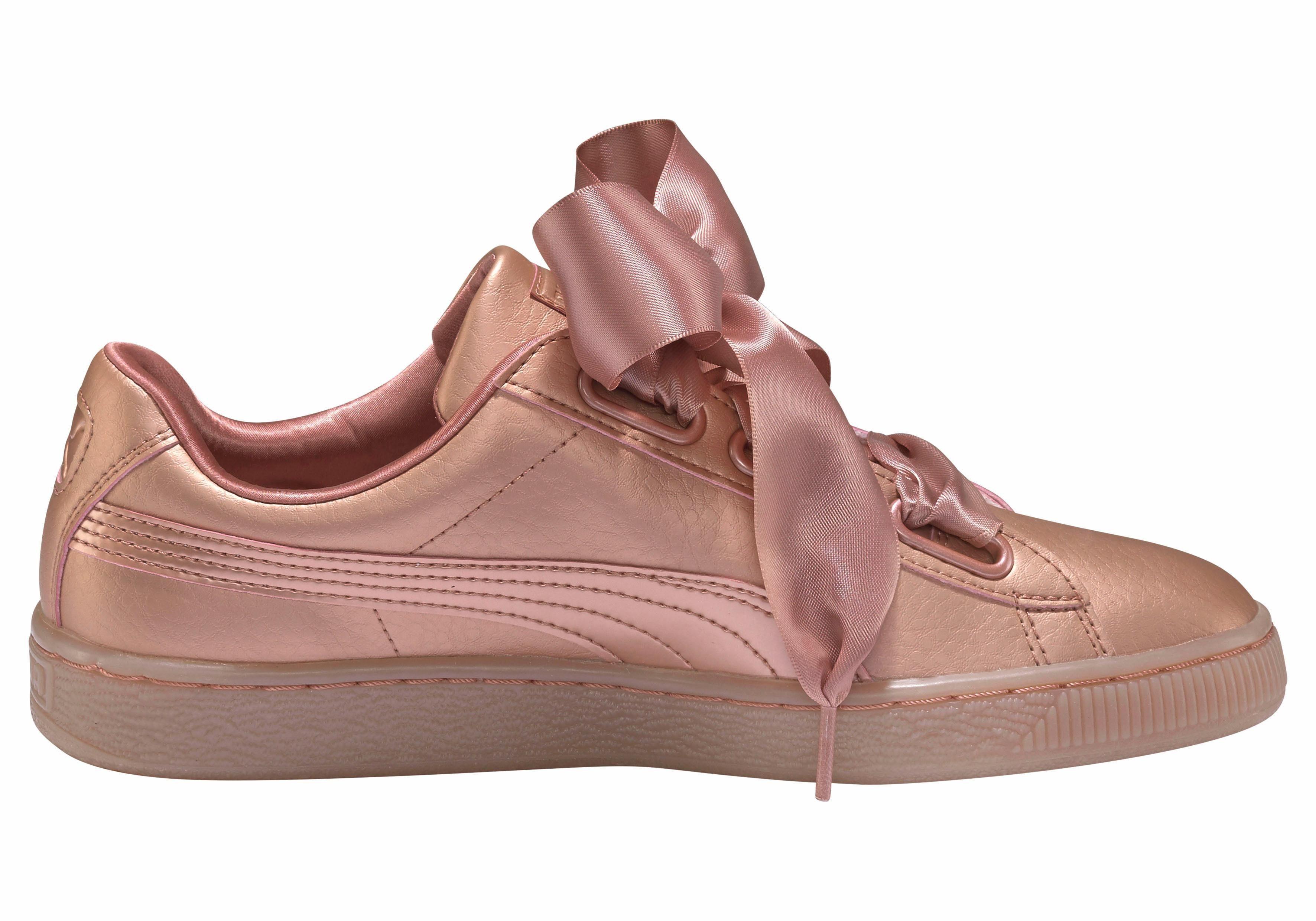 Pumas Panier Sneaker Femmes Cuivre Coeur - Roze - 38 Eu KZI17MM