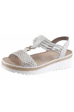 rieker sandaaltjes grijs