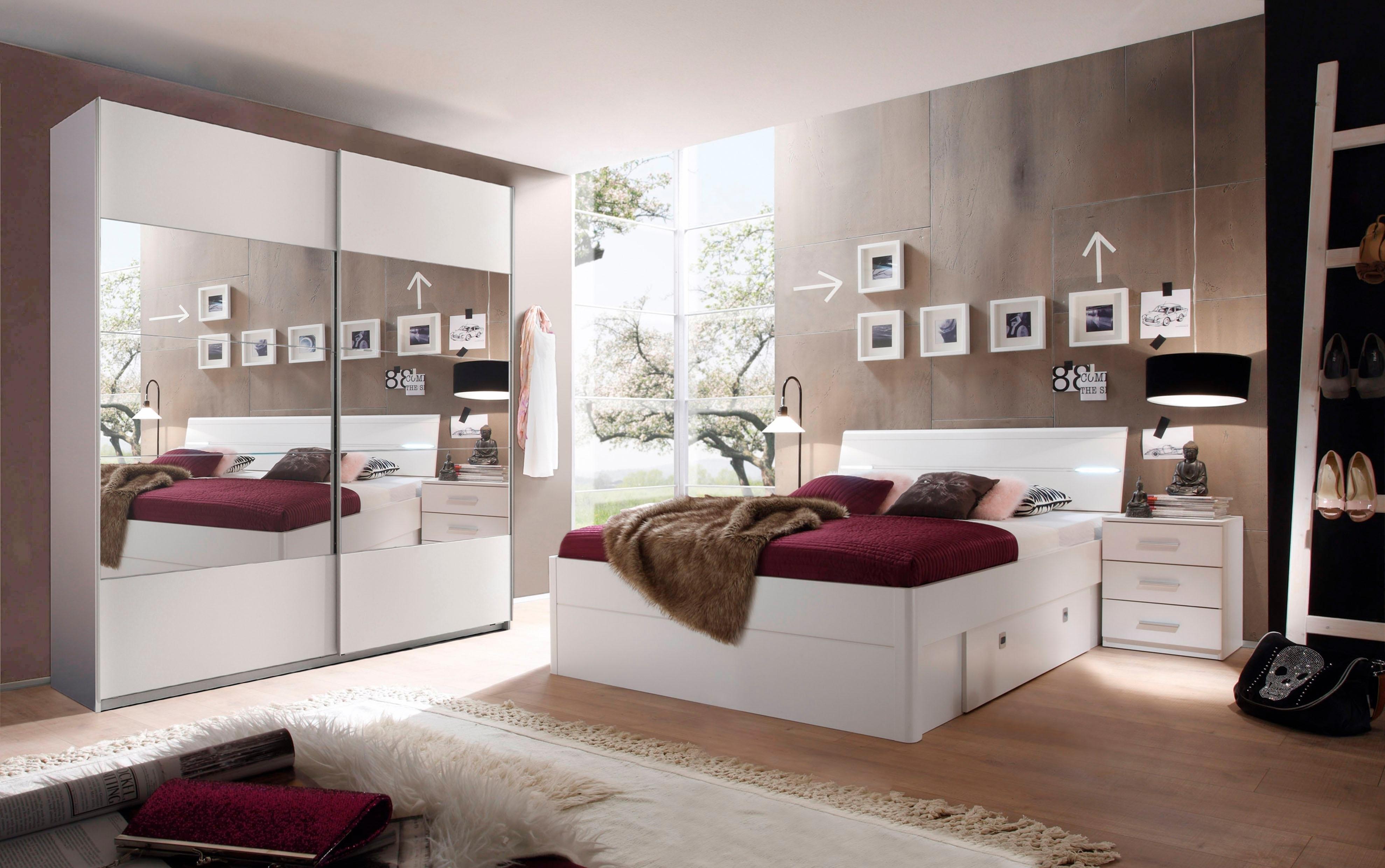 Schlafkontor slaapkamerserie Mars in 2 versies - gratis ruilen op otto.nl