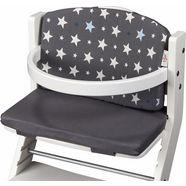 tissi zitkussen voor kinderstoel, »grijze sterren« grijs