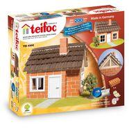 teifoc constructie-speelset vakwerkhuis made in germany (200 stuks) multicolor