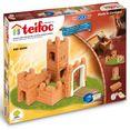 teifoc constructie-speelset burg made in germany (200 stuks) multicolor