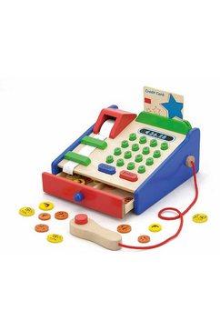 viga houten speelgoedkassa multicolor