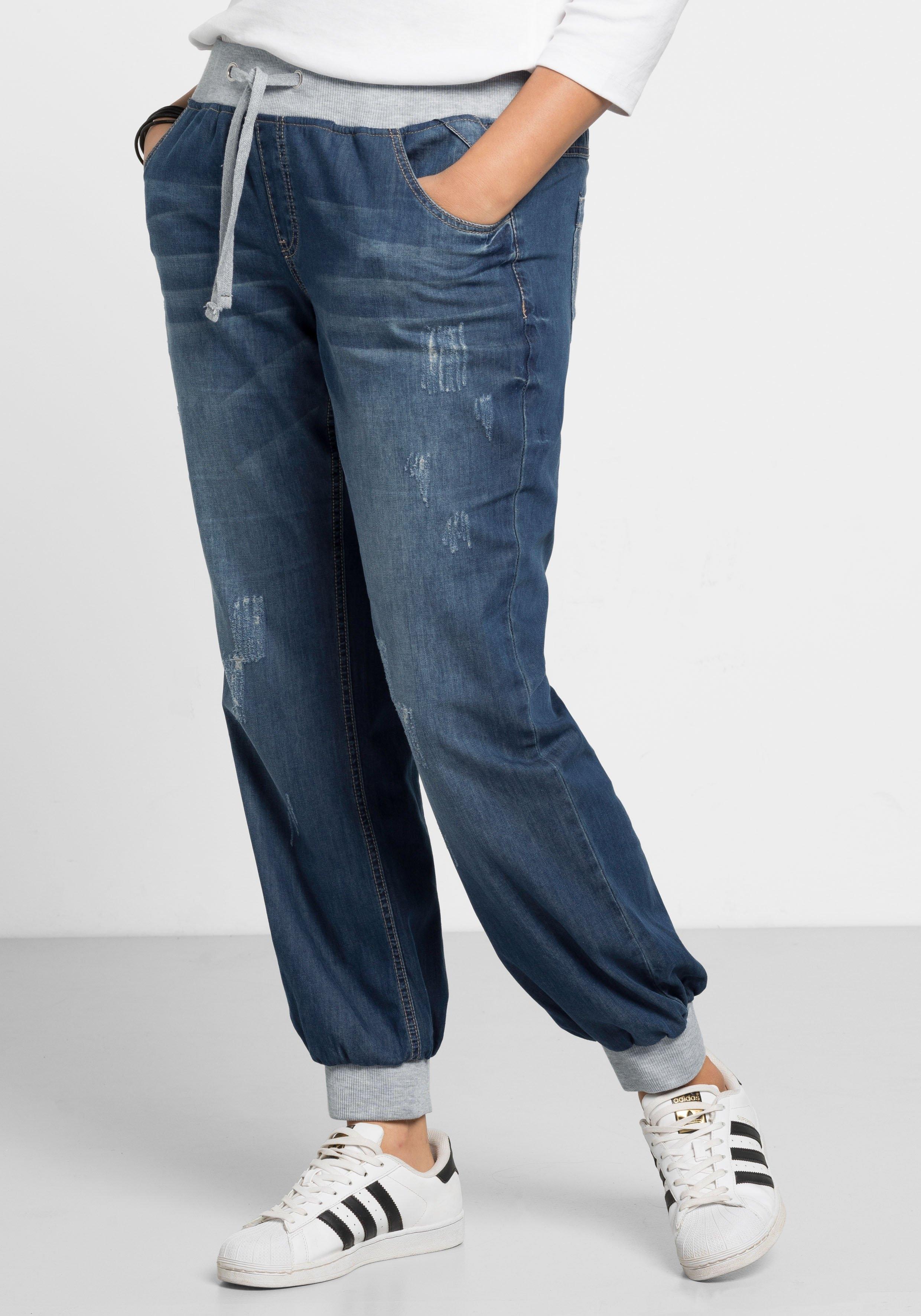Sheego Denim jeans in pofmodel - gratis ruilen op otto.nl