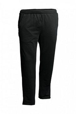 ahorn sportswear joggingbroek zwart