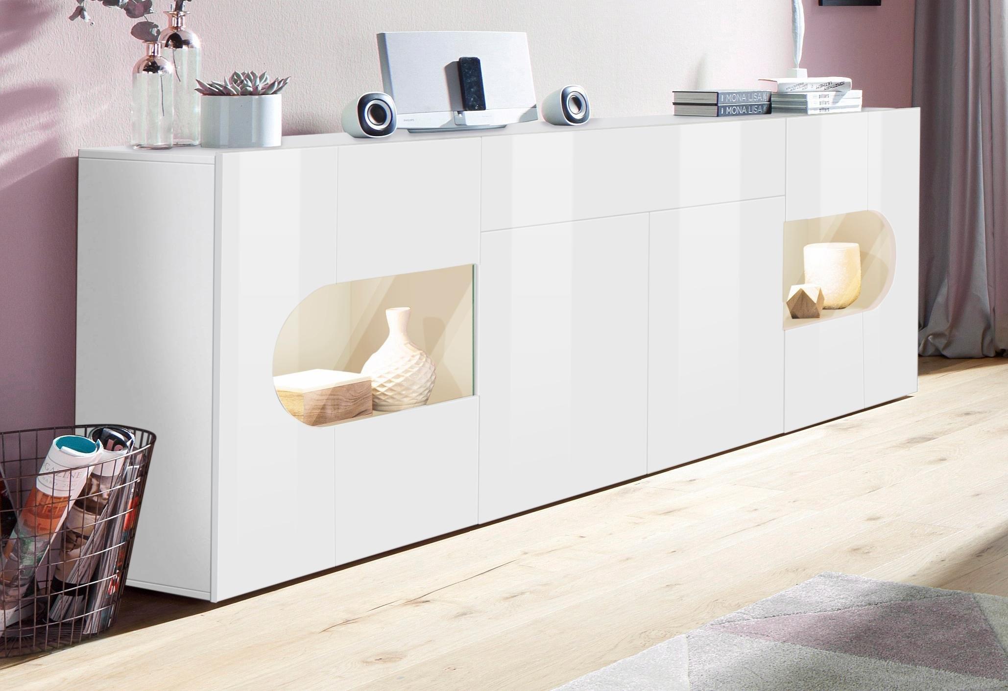 Tecnos dressoir Real breedte 220 cm voordelig en veilig online kopen