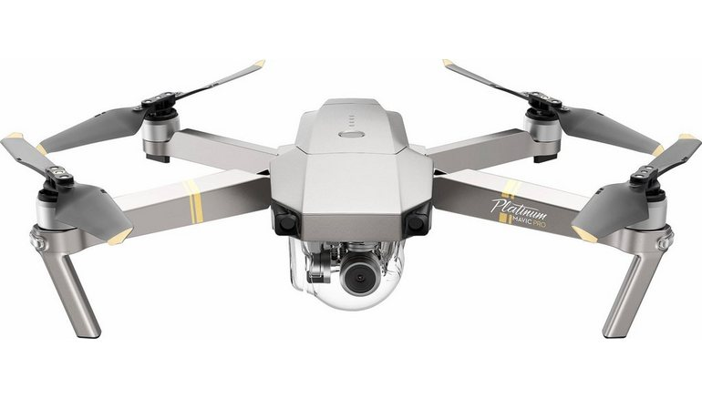 dji Mavic Pro Fly More Combo Platinum drone