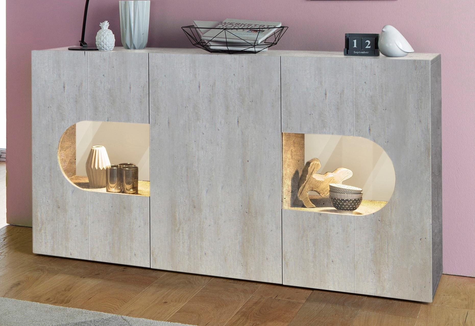 Tecnos dressoir »Real«, breedte 150 cm met 3 deuren veilig op otto.nl kopen