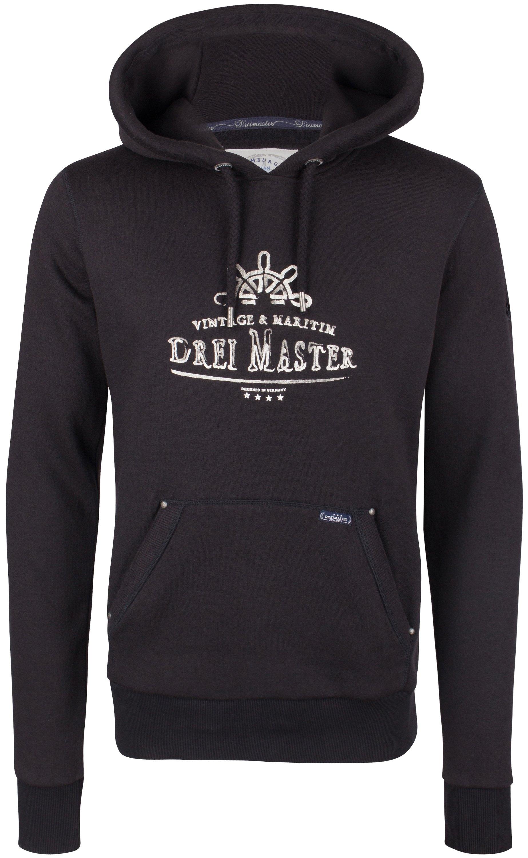 Dreimaster Hoody nu online kopen bij OTTO