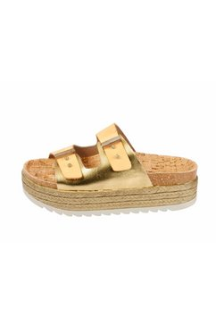 slippers goud