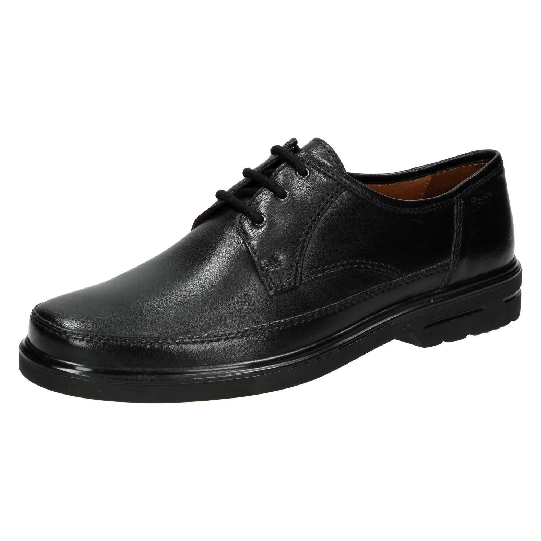 Sioux Pedron Chaussures Noires Pour Les Hommes 7yS1Y0OL